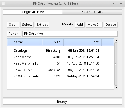 RNOArchive released